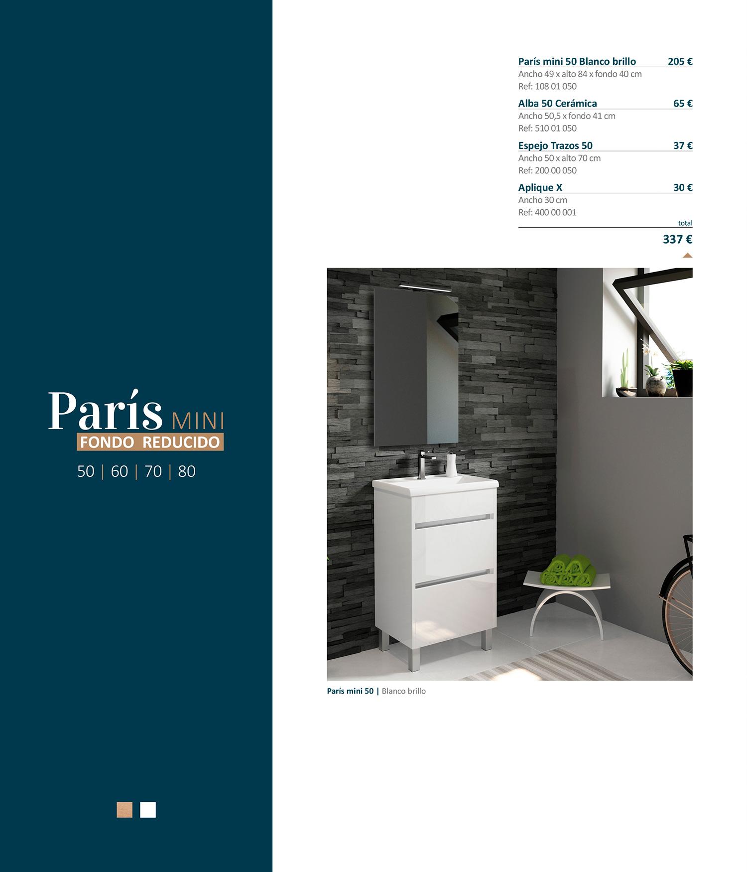 Mueble París Mini Fondo Reducido Sánchez Baños