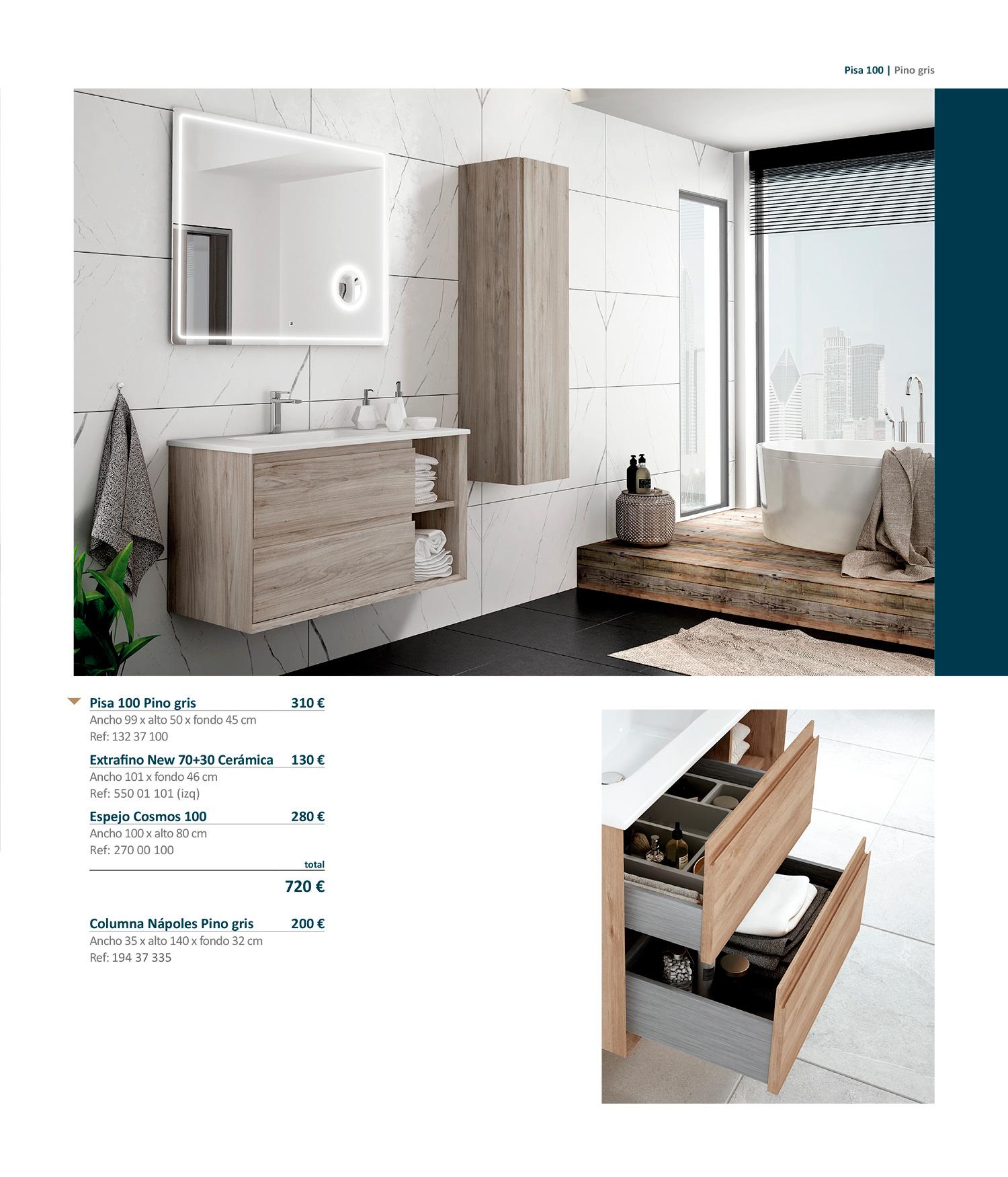 Mueble de baño Pisa Sánchez Baños