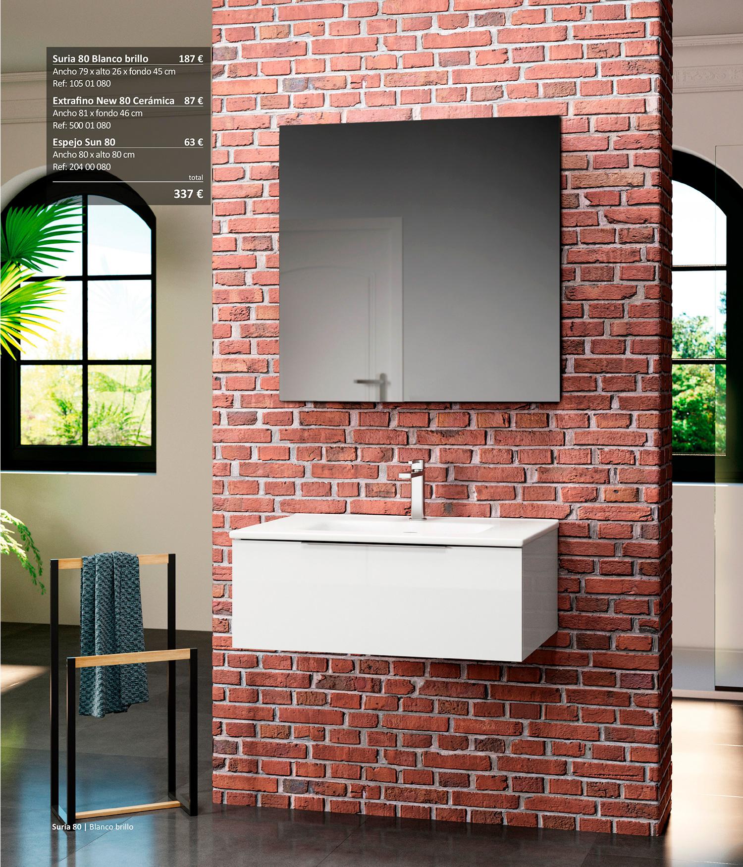 Mueble de baño Suria Sánchez Baños